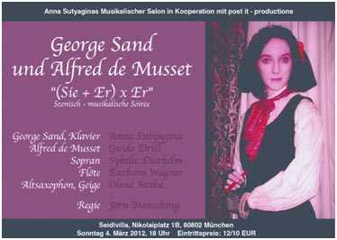 the life and works of george sand Who knows more than any one about the life and works of george sand, has been my guide and has helped me greatly with his wise advice private collections of documents have also been placed at my service.